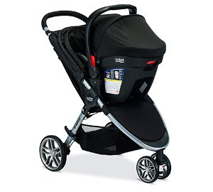 Britax B Agile Amp B Safe 35 Elite Travel System Review 2019
